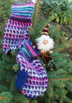 Трикотажные варежки, шерстяные варежки, перчатки Натуральная шерсть, Зимние варежки, рукавицы Радуга, Зима настоящее