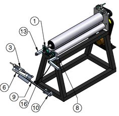 Discover thousands of images about NEW Sheet Metal ROLLER - Sheet Metal Roller - Welding Plans Welding Classes, Welding Jobs, Diy Welding, Welding Table, Metal Welding, Welding Design, Metal Projects, Welding Projects, Welding Ideas