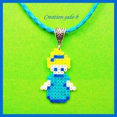 Collier Disney Cendrillon - Perles Hama Mini