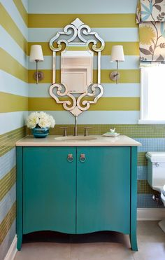 Eclectic Cottage Home With A Vibrant Yet Balanced Color Palette