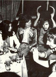 Jagger. Townshend.  Moon.