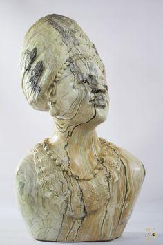 Butter Jade Stone - Woman Sculpture - T. M. GIDI Signed- Shona Art - Zimbabwe Sculpture Art, Sculptures, Jade Stone, Zimbabwe, Butter, Statue, Woman, Women, Butter Cheese