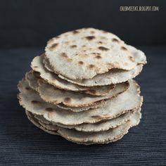 chleb miejski/ tortille gryczane