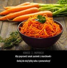 Jak ulepszyć surówkę z marchewki?