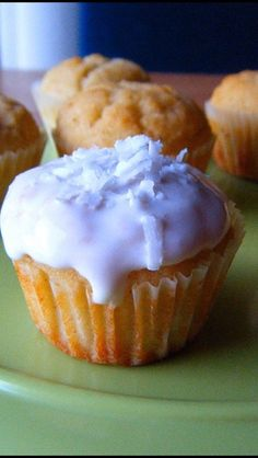 Healthy gluten and dairy free coconut cake