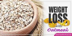 10 Awesome Ways to Lose Weight with Oatmeal #weightloss #loseweight #oatmeal #healthtip #healthyliving