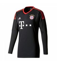 Bayern Munich Home Long Sleeved Goalkeeper Shirt - Cheap Football Shirts Store Soccer Gear, Soccer Shop, Soccer Cleats, Soccer Jerseys, Adidas Football, Football Soccer, Munich, Goalkeeper Shirts, Team Uniforms