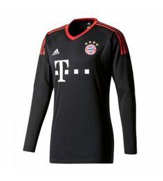 Bayern Munich Home Long Sleeved Goalkeeper Shirt - Cheap Football Shirts Store Soccer Gear, Soccer Shop, Soccer Cleats, Soccer Jerseys, Adidas Football, Football Soccer, Munich, Goalkeeper Shirts, Team Uniforms