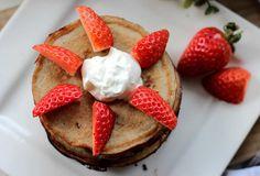 Lowcarb pancakes -Rezept für Bananen-Pancakes