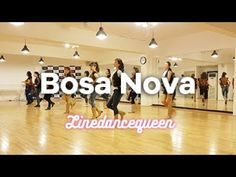 Bosa Nova Line Dance (Phil Dennington) Beginner / Intermediate rumba Demo & Count