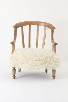 Flokati Garvey Chair