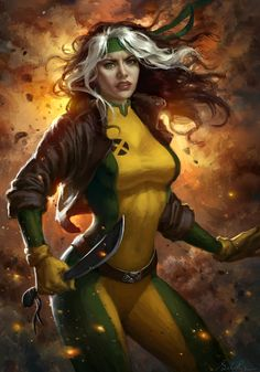Rogue X-Men by Selenada.deviantart.com on @deviantART