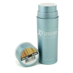 XFusion Light Blonde Keratin Hair Fibres 12g /.42 oz by X Fusion. $15.88. Visit our website BeeLineIndustries for more products and comprehesive information about each item.. In a matter of seconds, hair looks significantly thicker and fuller, and scalp show-through disappears.. Because XFusion's colored organic fibers are made of pure keratin protein - the same protein that makes up human hair - it offers a completely natural solution to thinning hair.. Simply ...