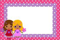 Imágenes y marcos de muñecas para niñas | Imágenes para Peques