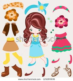 Paper Dolls Stock Photos, Images, & Pictures | Shutterstock
