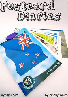 While on holiday collect postcards and write about what you have done on the back of them. When your home you can turn them into a postcard diaries. Things To Do Inside, Fun Things, Writing Activities, Educational Activities, Keeping A Diary, Learning To Write, Making Memories, Sensory Play, Phonics