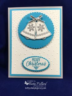 Silver Bells Christmas Card