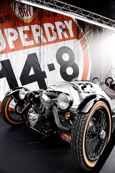 Morgan X Super Dry JPN 3-Wheeler