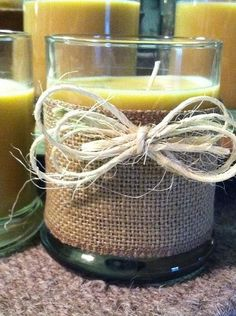 Just off the workbench...JillSuzanne's newest SPRING/SUMMER collection...filled, of course with her signature-scent candle !!