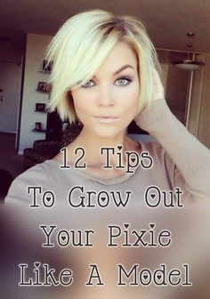 12 Tips To Grow Out A Pixie Like A Model #StyleSaturday