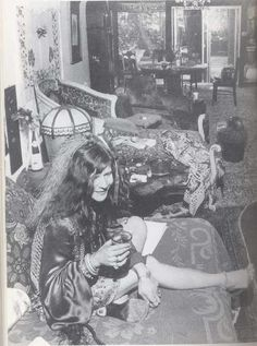 Janis Joplin He Janis, what are you drinking? I know, your favorite is a straight Southern Comfort.
