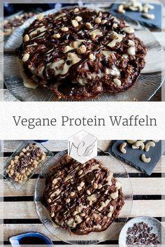Das perfekte vegane, eiweißreiche Fühstücksrezept #vegan #protein #waffeln