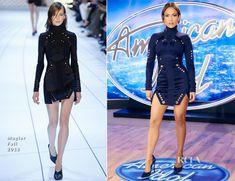 Jennifer Lopez In Mugler - American Idol Philadelphia Auditions