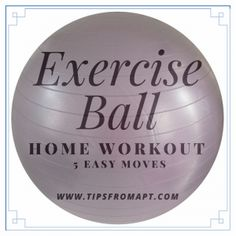 Learn About The Benefits Using An Exercise Ball For Sitting Exercises Instead of a Chair.  Get 5 Fast & Easy Sitting Home Exercises for the Elderly Focused on Improving Posture, Balance, Strength, & More.
