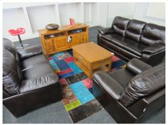 3PC 6- SEATER LEATHER TOUCH LOUNGE SUITE Lounge Suites, Decor, Seater, Furniture, Home, Leather Touch, Lounge, Home Decor, Furniture Auctions
