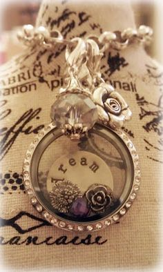 Origami Owl Necklace-fill it with what you love.