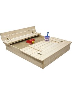 Sandlåda Jabo Med Bänk / Lock 120x120cm 3304