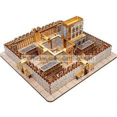 The Third Temple as described by the prophet Ezekiel in his visions (Ezekiel 40-43) which will come in the end of days.