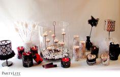 DIY Romantic decoration - Atelier Déco Boudoir romantique #deco #boudoir #romantique #PartyLite #atelier #romantic