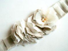 Sweet & Skinny Ruffled Headband -