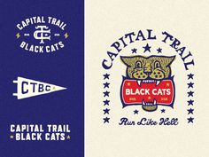 Capital Trail Black Cats by Blake Cale
