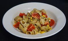 Kochglück: Nudel-Linsen-Salat