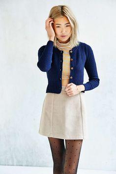 Kimchi Blue Cara Mini Cardigan - Urban Outfitters