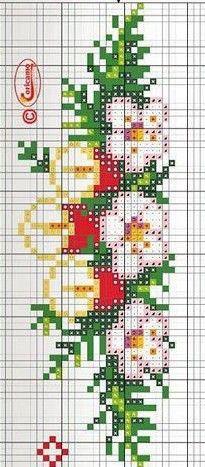 Xmas Cross Stitch, Cross Stitch Embroidery, Cross Stitch Designs, Cross Stitch Patterns, Christmas Cross, Pixel Art, Needlepoint, Christmas Stockings, Diy And Crafts