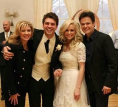 Donny Osmond Wedding | Donny and Debbie's son's wedding