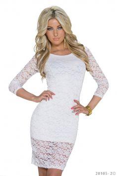 Moda Italiana Šaty Claudis white   elissfashion.sk