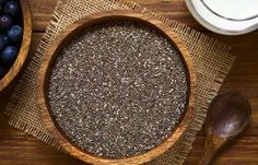 Home Remedies For Polycystic Ovary - Chia Seeds