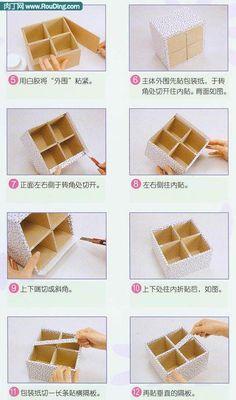 Teach you to do the storage box - exquisite storage box DIY tutorial