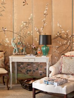 And George  handpainted screen inspiration