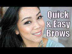 How To Do Your Brows in 2 Minutes! - itsjudytime - YouTube