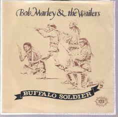 BOB MARLEY. BUFFALO SOLDIER. TUFF GONG 1983