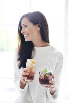 Superfood Summer Spritzers from Registered Dietitian Tori Wesszer of Fraiche Nutrition