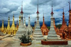 Amazing Indein pagodas in Myanmar