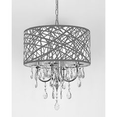 Rectangular glass chain island chandelier kitchen island oasis savoy house tierney 6 light crystal chandelier reviews wayfair mozeypictures Gallery