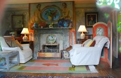Charleston - Bloomsbury Group home