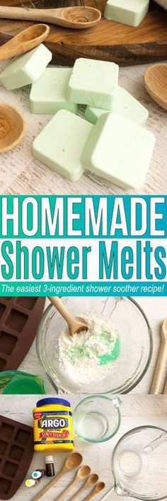 This shower melts recipe is similar to homemade shower soothers. These DIY shower steamers is great if you are curious how to use essential oils in the shower!